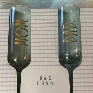 RAE DUNN Other - Rae Dunn. Stemmed Flutes